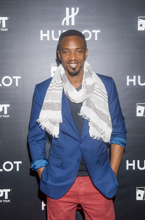 bellagio las vegas: LAS VEGAS - DEC 17 : Actor J. August Richards attends the announcement of Hublot and World Poker Tour partnership held at the HYDE club at Bellagio in Las Vegas on December 17 2014 Editorial