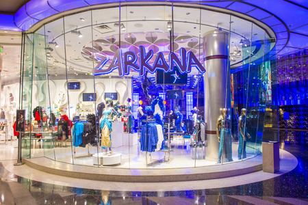 soleil: LAS VEGAS - MARCH 26 : Zarkana at the Aria hotel in Las Vegas on March 26 2015.  Zarkana is a Cirque du Soleil stage production written and directed by François Girard.