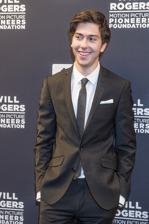 nat: LAS VEGAS - APRIL 22 : Actormusician Nat Wolff attends the Pioneer Dinner during 2015 CinemaCon on April 22 , 2015 at Caesars Palace in Las Vegas, Nevada