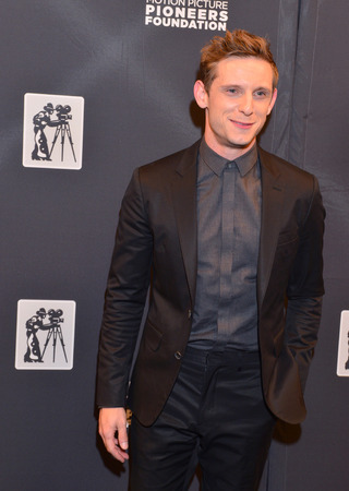 caesars palace: LAS VEGAS - APRIL 22 : Actor Jamie Bell attends the Pioneer Dinner during 2015 CinemaCon on April 22 , 2015 at Caesars Palace in Las Vegas, Nevada Editorial