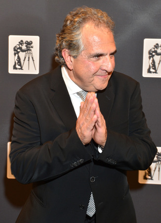 arts culture and entertainment: LAS VEGAS - APRIL 22 : Fox Filmed Entertainment Chairman Jim Gianopulos attends the Pioneer Dinner during 2015 CinemaCon on April 22 , 2015 at Caesars Palace in Las Vegas, Nevada Editorial