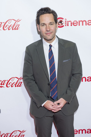 caesars palace: LAS VEGAS - APR 23 : Actor Paul Rudd, winner of CinemaCons Male Star of the Year award, attends the 2015 Big Screen Achievement Awards during 2015 CinemaCon on April 23, 2015 in Las Vegas. Editorial