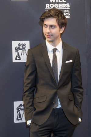 caesars palace: LAS VEGAS - APRIL 22 : Actormusician Nat Wolff attends the Pioneer Dinner during 2015 CinemaCon on April 22 , 2015 at Caesars Palace in Las Vegas, Nevada