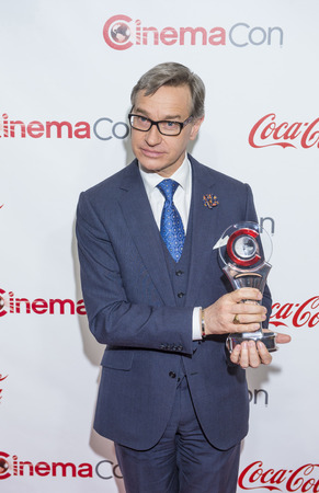 filmmaker: LAS VEGAS - APR 23 : Director Paul Feig, winner of CinemaCons Comedy Filmmaker of the Year award, attends the 2015 Big Screen Achievement Awards on April 23, 2015 in Las Vegas, NV.