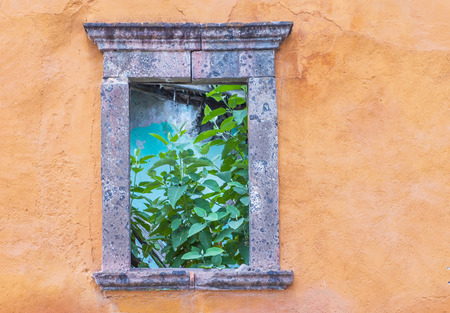 architectural heritage of the world: SAN MIGUEL DE ALLENDE , MEXICO - MAY 31 : Architectural details in San Miguel de Allende , Mexico on May 31 2015. The historic city San Miguel de Allende is UNESCO World Heritage Site since 2008.