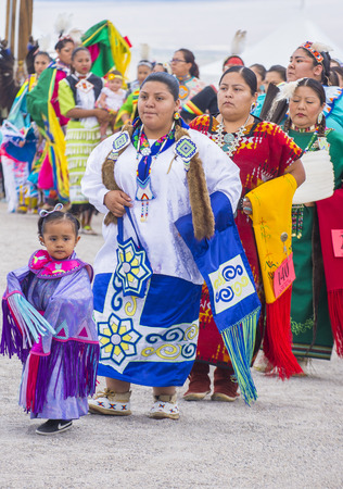 pow wow: LAS VEGAS - MAY 24 : Native American women takes part at the 26th Annual Paiute Tribe Pow Wow on May 24 , 2015 in Las Vegas Nevada. Pow wow is native American cultural gathernig event.