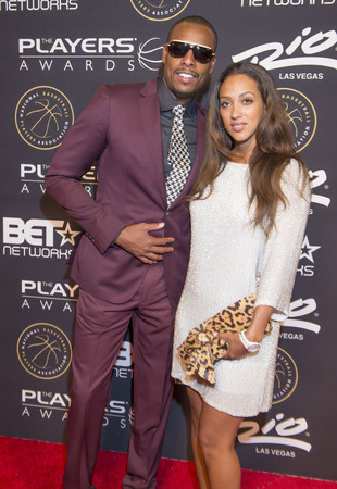 pierce: LAS VEGAS - JULY 19 : NBA player Paul Pierce (L) of the Los Angeles Clippers and Julie Pierce attend The Players Awards at the Rio Hotel & Casino on July 19, 2015 in Las Vegas, Nevada