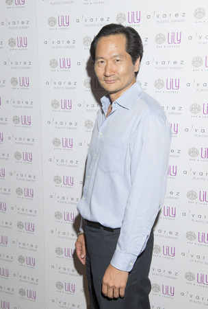 bar lounge: LAS VEGAS - JULY 17 : Actor  Charles Rahi Chun attends a party for Alvarez Plastic Surgery at Lily Bar & Lounge at the Bellagio hotel in Las Vegas, Nevada on July 17 2015.