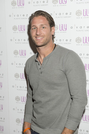 bar lounge: LAS VEGAS - JULY 17 : Television personality Juan Pablo Galavis attends a party for Alvarez Plastic Surgery at Lily Bar & Lounge at the Bellagio hotel in Las Vegas, Nevada on July 17 2015.
