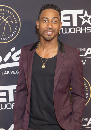 comedian: LAS VEGAS - JULY 19 : Comedian Brandon T. Jackson attends The Players Awards at the Rio Hotel & Casino on July 19, 2015 in Las Vegas, Nevada
