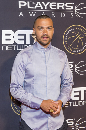 williams: LAS VEGAS - JULY 19 : Actor Jesse Williams attends The Players Awards at the Rio Hotel & Casino on July 19, 2015 in Las Vegas, Nevada