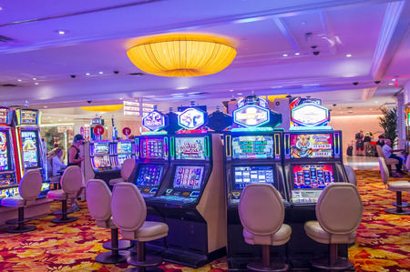 tropicana: LAS VEGAS - SEP 03 : The interior of Tropicana hotel and casino on September 03 , 2015 in Las Vegas. The Tropicana opened in 1957 and it is the one of the oldest hotels on the Las Vegas Strip.