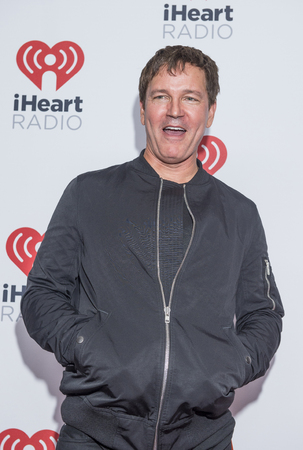 third eye: LAS VEGAS - SEP 18 : Singer Stephen Jenkins of Third Eye Blind attends the 2015 iHeartRadio Music Festival at MGM Grand Garden Arena on September 18, 2015 in Las Vegas