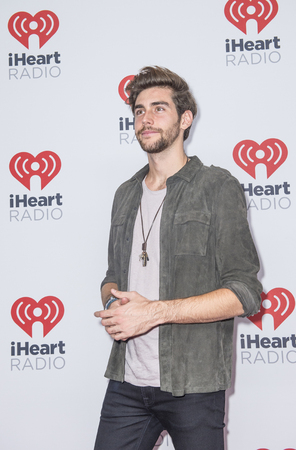 alvaro: LAS VEGAS - SEP 19 : Singer Alvaro Soler attends the 2015 iHeartRadio Music Festival at MGM Grand Garden Arena on September 19, 2015 in Las Vegas, Nevada.