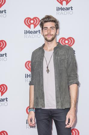 alvaro: LAS VEGAS - SEP 19 : Singer Alvaro Soler attends the 2015 iHeartRadio Music Festival at MGM Grand Garden Arena on September 19, 2015 in Las Vegas, Nevada.