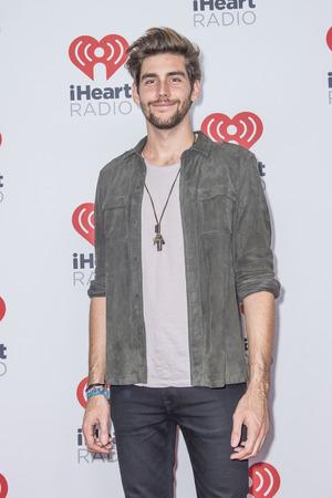 LAS VEGAS - SEP 19 : Singer Alvaro Soler attends the 2015 iHeartRadio Music Festival at MGM Grand Garden Arena on September 19, 2015 in Las Vegas, Nevada.