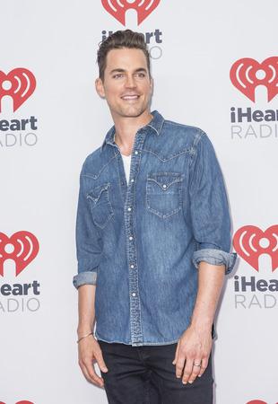 matt: LAS VEGAS - SEP 19 : Actor Matt Bomer attends the 2015 iHeartRadio Music Festival at MGM Grand Garden Arena on September 19, 2015 in Las Vegas, Nevada. Editorial