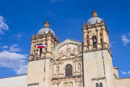 oaxaca: OAXACA , MEXICO - NOV 02 : The church of Santo Domingo de Guzman in Oaxaca , Mexico. on November 02 2015  the church was founded by the Dominican Order in 1570.