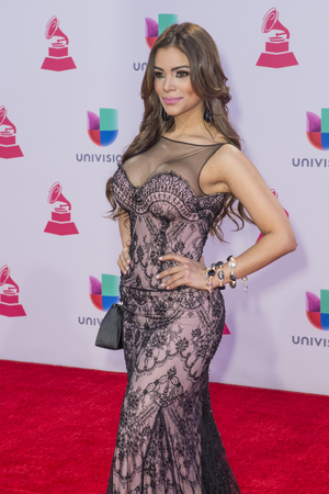 grammy: LAS VEGAS , NOV 19 : Mariangeles attends the 16th Annual Latin GRAMMY Awards on November 19 2015 at the MGM Grand Arena in Las Vegas, Nevada