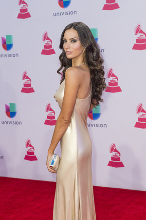 grammy: LAS VEGAS , NOV 19 : Actress Genesis Rodriguez attends the 16th Annual Latin GRAMMY Awards on November 19 2015 at the MGM Grand Arena in Las Vegas, Nevada