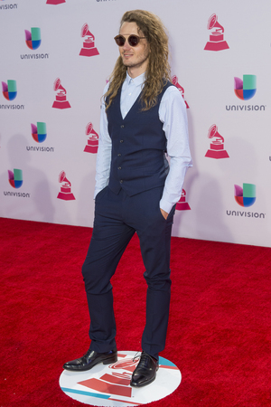 grammy: LAS VEGAS , NOV 19 : Musician Andres Nusser De Asto attends the 16th Annual Latin GRAMMY Awards on November 19 2015 at the MGM Grand Arena in Las Vegas, Nevada