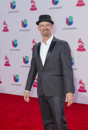 grammy: LAS VEGAS , NOV 19 : Musician Mister G attends the 16th Annual Latin GRAMMY Awards on November 19 2015 at the MGM Grand Arena in Las Vegas, Nevada Editorial