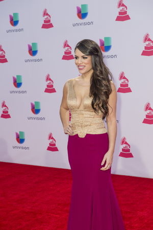 limon: LAS VEGAS , NOV 19 : Singersongwriter Marlin Limon attends the 16th Annual Latin GRAMMY Awards on November 19 2015 at the MGM Grand Arena in Las Vegas, Nevada