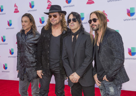grammy: LAS VEGAS , NOV 19 : Music group Mana attends the 16th Annual Latin GRAMMY Awards on November 19 2015 at the MGM Grand Arena in Las Vegas, Nevada Editorial
