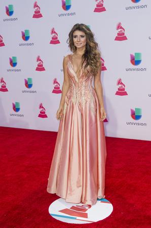 paula: LAS VEGAS , NOV 19 : Singer Paula Fernandes attends the 16th Annual Latin GRAMMY Awards on November 19 2015 at the MGM Grand Arena in Las Vegas, Nevada