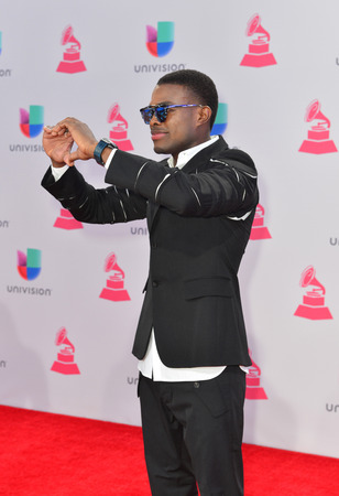 grammy: LAS VEGAS , NOV 19 : Singer OMI attends the 16th Annual Latin GRAMMY Awards on November 19 2015 at the MGM Grand Arena in Las Vegas, Nevada