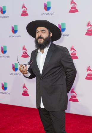 grammy: LAS VEGAS , NOV 19 : Musician Joselito Acedo attends the 16th Annual Latin GRAMMY Awards on November 19 2015 at the MGM Grand Arena in Las Vegas, Nevada
