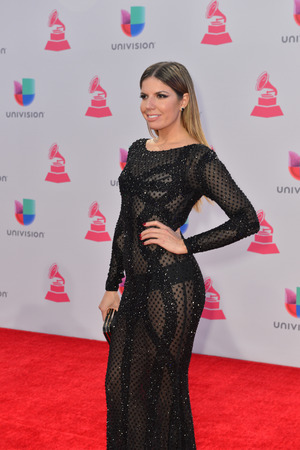 kelly: LAS VEGAS , NOV 19 : TV personality Fernanda Kelly attends the 16th Annual Latin GRAMMY Awards on November 19 2015 at the MGM Grand Arena in Las Vegas, Nevada Editorial