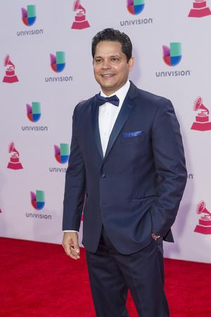 ruiz: LAS VEGAS , NOV 19 : Singer Rey Ruiz attends the 16th Annual Latin GRAMMY Awards on November 19 2015 at the MGM Grand Arena in Las Vegas, Nevada