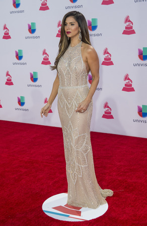 grammy: LAS VEGAS , NOV 19 : Actress Roselyn Sanchez attends the 16th Annual Latin GRAMMY Awards on November 19 2015 at the MGM Grand Arena in Las Vegas, Nevada