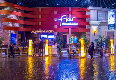 10 best: LAS VEGAS - Nov 17 : The Fleur by Hubert Keller restaurant in Mandalay Bay hotel in Las Vegas on November 17 2015. Hubert Keller was ranked as one of the 10 best chefs in America.