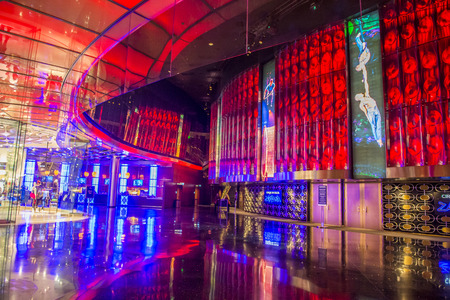 cirque: LAS VEGAS - DEC 18 : Zarkana at the Aria hotel in Las Vegas on December 18 2015.  Zarkana is a Cirque du Soleil stage production written and directed by François Girard. Editorial