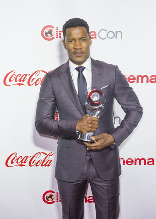 recipient: LAS VEGAS - APRIL 14 : Director Nate Parker, recipient of the Breakthrough Director of the Year Award attends  the CinemaCon Big Screen Achievement Awards at The Caesars Palace on April 14 2016 in Las Vegas