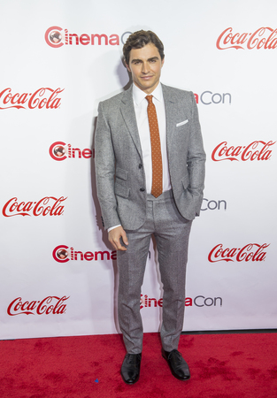recipient: LAS VEGAS - APRIL 14 : Actor Dave Franco, recipient of the Breakthrough Performer of the Year Award attends the CinemaCon Big Screen Achievement Awards at The Caesars Palace on April 14 2016 in Las Vegas