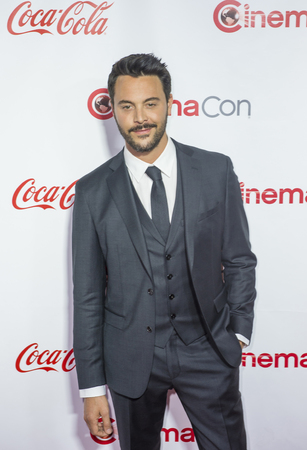 recipient: LAS VEGAS - APRIL 14 : Actor Jack Huston, recipient of the Rising Star of the Year Award, attends the CinemaCon Big Screen Achievement Awards at The Caesars Palace on April 14 2016 in Las Vegas