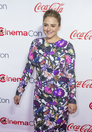 annie: LAS VEGAS - APRIL 14 : Actress Annie Mumolo, one of the recipients of the Female Stars of the Year Award, attends the CinemaCon Big Screen Achievement Awards at The Caesars Palace on April 14 2016 in Las Vegas