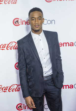 usher: LAS VEGAS - APRIL 14 : Actor Jessie Usher attends the CinemaCon Big Screen Achievement Awards at The Caesars Palace on April 14 2016 in Las Vegas