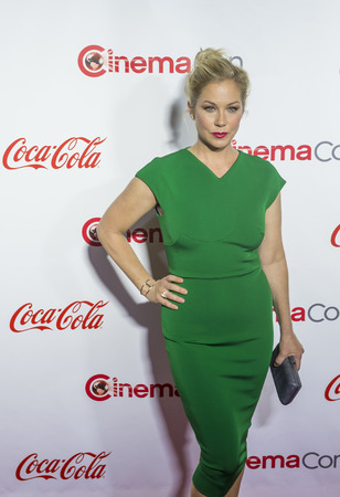 christina: LAS VEGAS - APRIL 14 : Actress Christina Applegate, one of the recipients of the Female Stars of the Year Award, attends the CinemaCon Big Screen Achievement Awards at The Caesars Palace on April 14 2016 in Las Vegas
