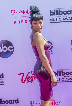 palmer: LAS VEGAS - MAY 22 : Actresssinger Keke Palmer attends the 2016 Billboard Music Awards at T-Mobile Arena on May 22, 2016 in Las Vegas, Nevada.