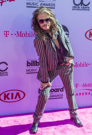 steven: LAS VEGAS - MAY 22 : Singer Steven Tyler attends the 2016 Billboard Music Awards at T-Mobile Arena on May 22, 2016 in Las Vegas, Nevada.