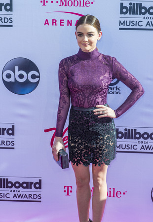 LAS VEGAS - MAY 22 : Actressrecording artist Lucy Hale attends the 2016 Billboard Music Awards at T-Mobile Arena on May 22, 2016 in Las Vegas, Nevada.