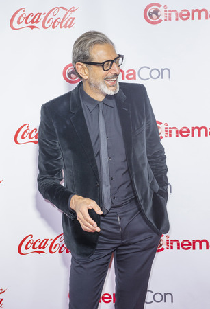 caesars palace: LAS VEGAS - APRIL 14 : Actor Jeff Goldblum attends the CinemaCon Big Screen Achievement Awards at The Caesars Palace on April 14 2016 in Las Vegas Editorial
