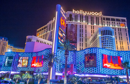 LAS VEGAS - JUNE 14 : Planet Hollywood Resort and Casino in Las Vegas on June 14 2016. Planet Hollywood has over 2,500 rooms available and it located on Las Vegas Boulevard. Editorial