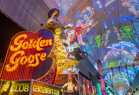 nv: LAS VEGAS - JUNE 18 : The Fremont Street Experience on June 18, 2016 in Las Vegas, Nevada. The Fremont Street Experience is a pedestrian mall and attraction in downtown Las Vegas