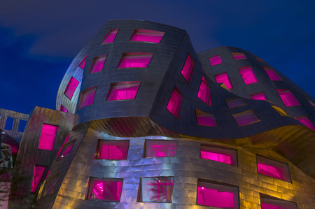 frank: LAS VEGAS - JUNE 18 : The Cleveland Clinic Lou Ruvo Center for Brain Health in downtown Las Vegas Nevada on June 18 2016 , the modern building designed by the architect Frank Gehry