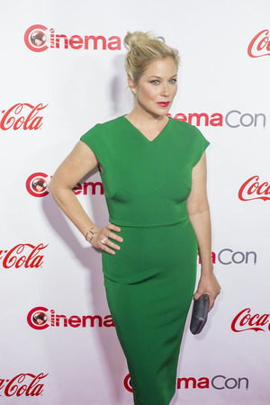 caesars palace: LAS VEGAS - APRIL 14 : Actress Christina Applegate, one of the recipients of the Female Stars of the Year Award, attends the CinemaCon Big Screen Achievement Awards at The Caesars Palace on April 14 2016 in Las Vegas
